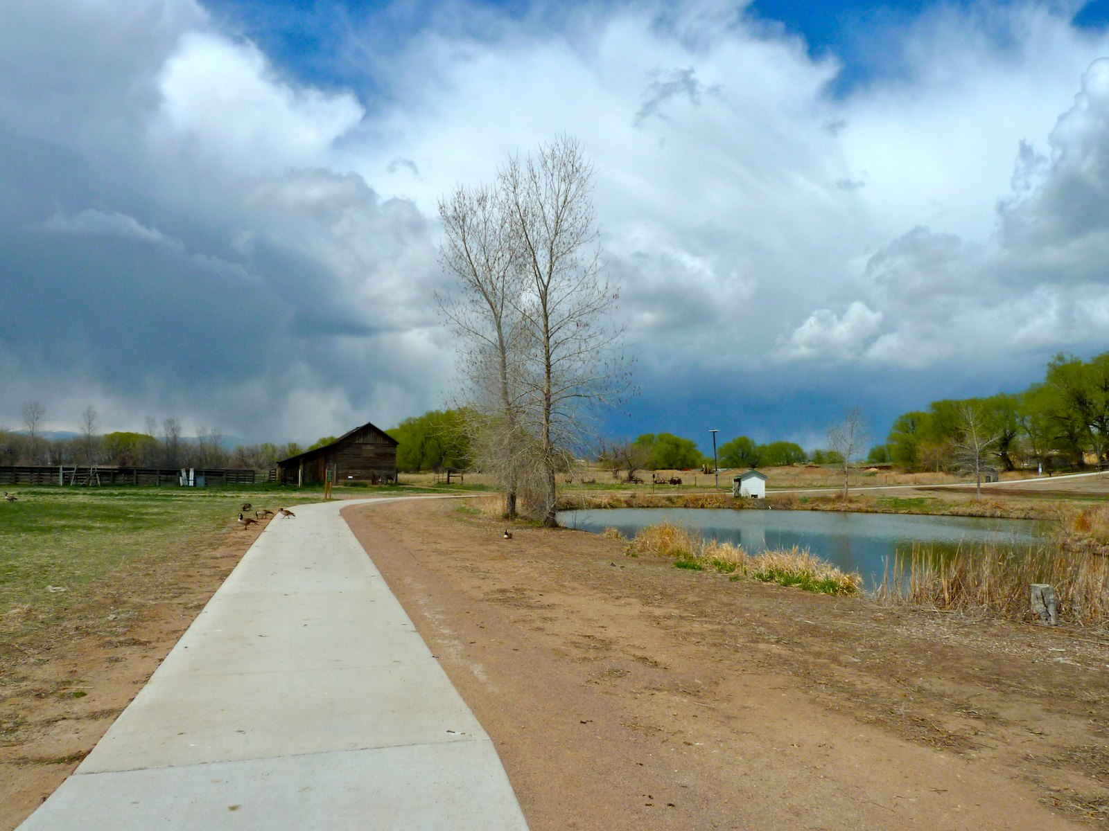St. Vrain Greenway Trail in Longmont, Colorado