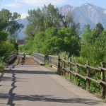 Rio Grande bike trail from Glenwood Springs to Aspen, Colorado