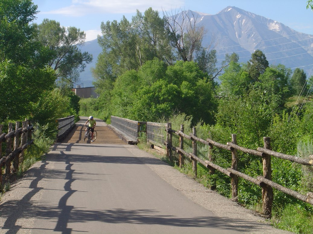 Bike Colorado Rail Rio Grande bike trail from