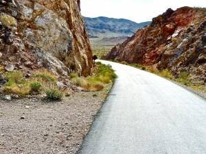 smooth asphalt loop trail in Nevada